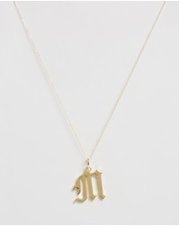 Reliquia Jewellery - Letter M Necklace