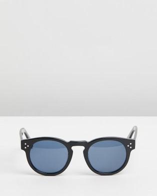 Pacifico Optical Lola - Sunglasses (Gloss Black with Blue Lens)