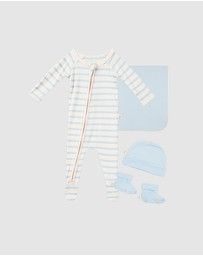 Boody Organic Bamboo Eco Wear - Everything You Need Baby Gift Set (3 items)