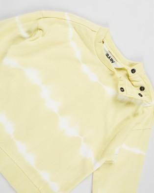 Cotton On Baby Enzo Zac Tracksuit   Babies - Sweats (Lemon Drop Linear Tie Dye)