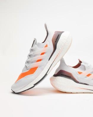Australia adidas Performance UltraBOOST 21 Men's Shoes Dash Grey, Dash Grey & Screaming Orange