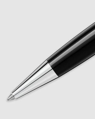 Montblanc Meisterst??ck Platinum Coated Classique Ballpoint Pen - All Stationery (Black)