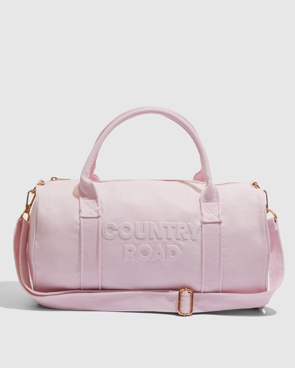 Country Road Logo Overnight Bag Bags pink