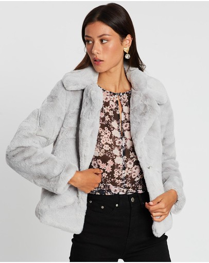 Wish The Label - Rider Faux Fur Jacket