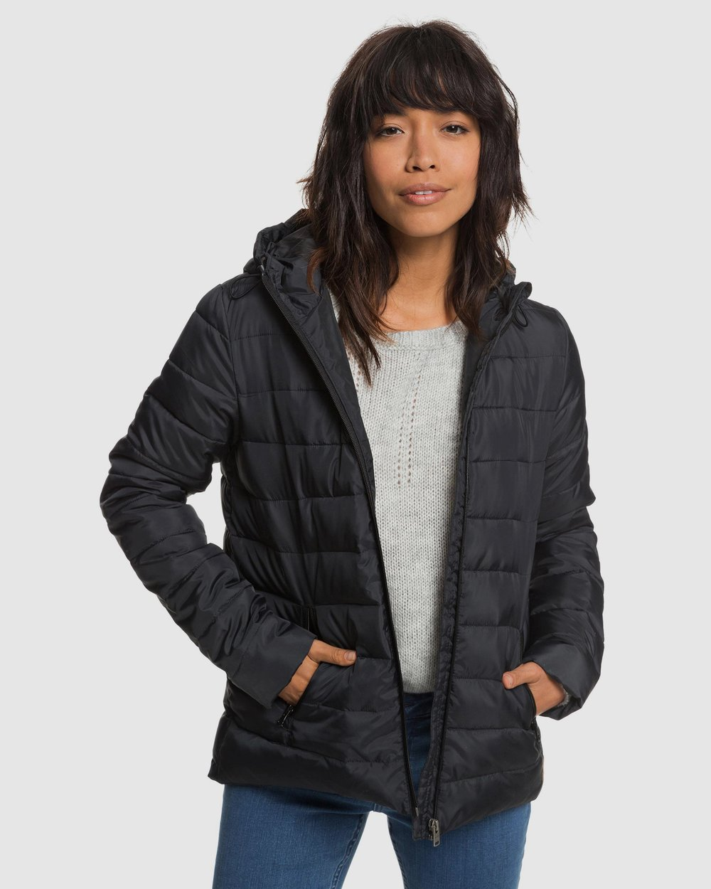 35fd37b01236 Womens Rock Peak Water Repellent Padded Jacket by Roxy Online | THE ICONIC  | Australia