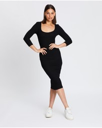 Atmos&Here - Charli Midi Jersey Dress