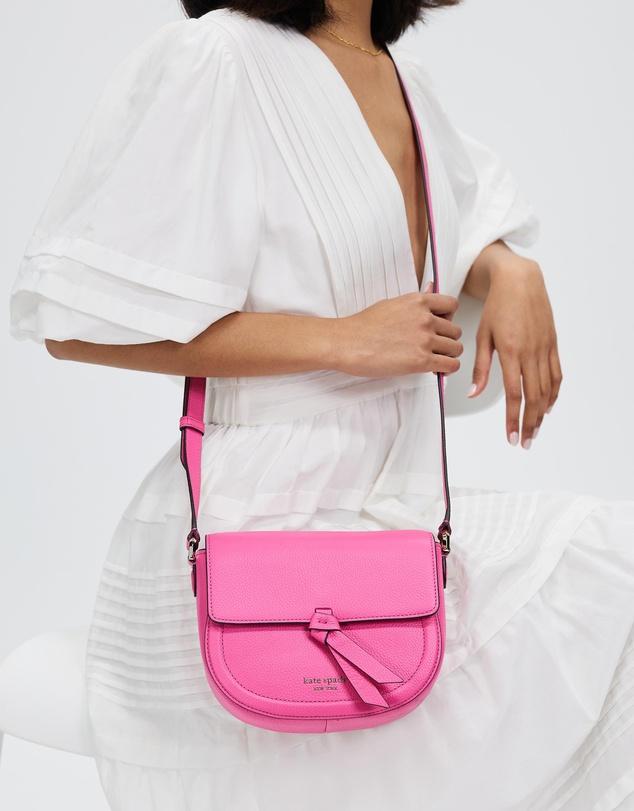 Women Medium Knott Saddle Bag