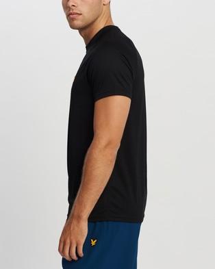 Lyle and Scott Core Raglan Tee - Short Sleeve T-Shirts (True Black)