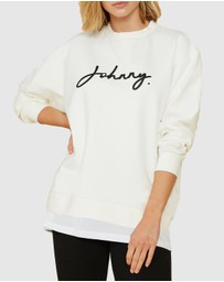 BY JOHNNY. - Signature Crew Sweat