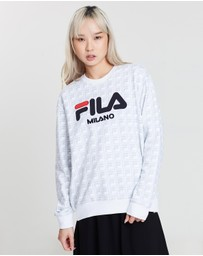 White Line Sweatshirt
