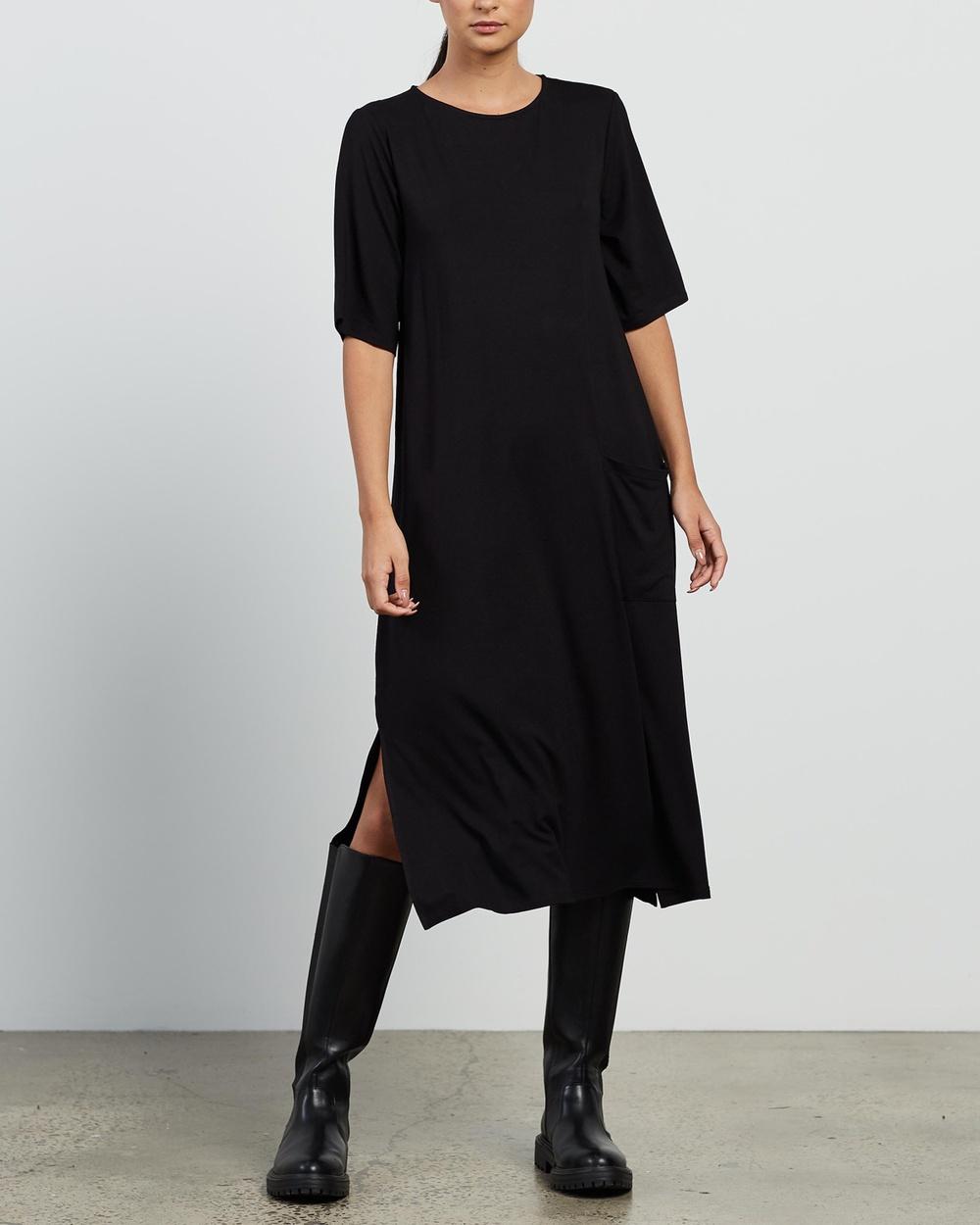 Aligne Cenni Dress Dresses Black