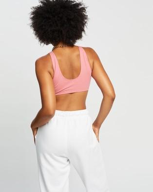 adidas Originals Fakten Bra Top - Crop Tops (Hazy Rose Melange & White)