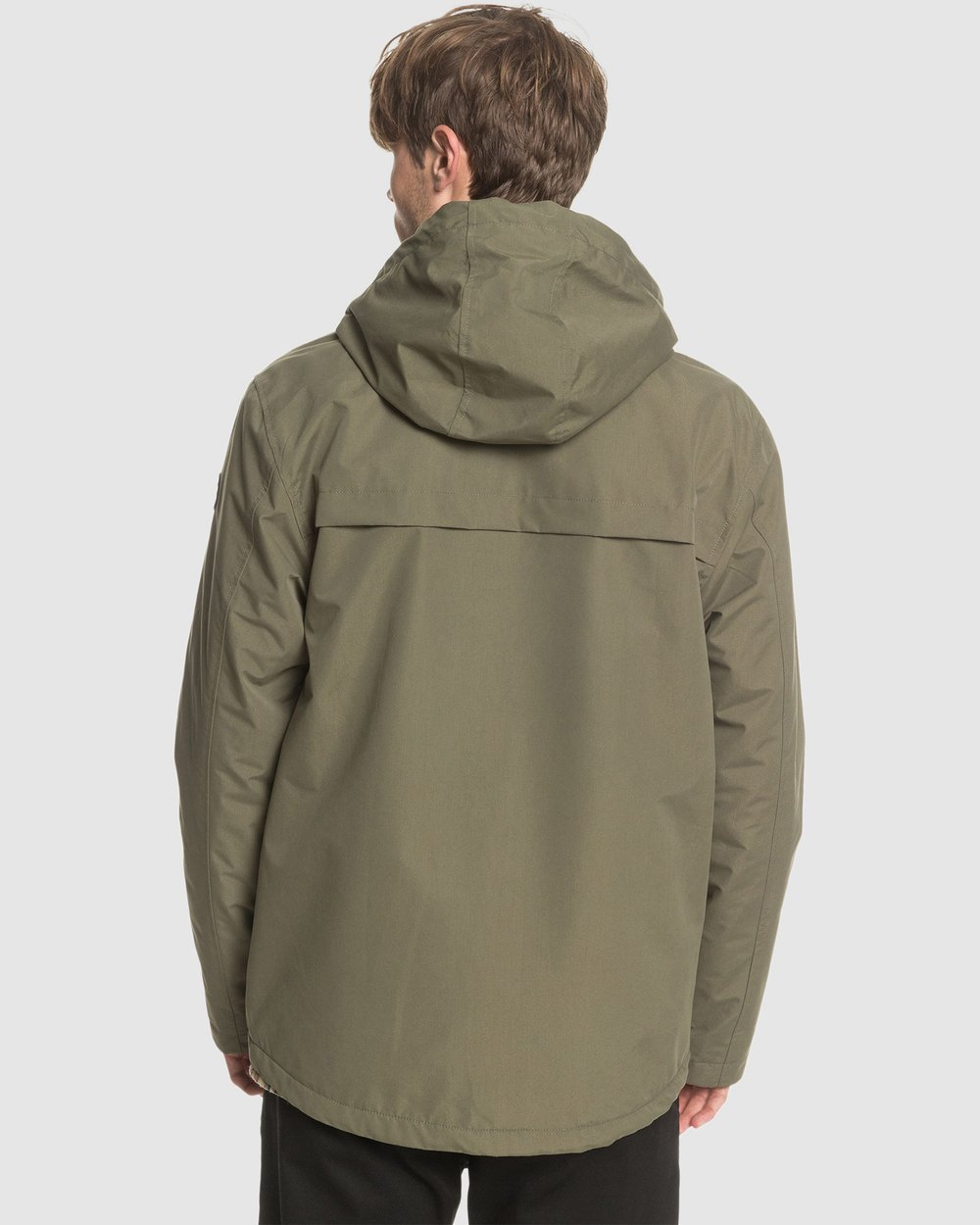 Quiksilver Boys Waiting Period-Hooded Water-Resistant Parka 8-16 Jackets