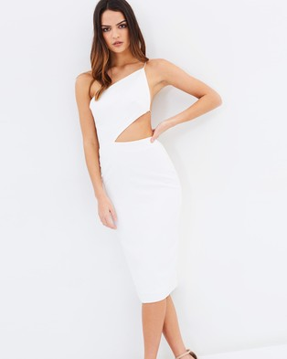 Maurie & Eve – Can't Get Enough Dress White