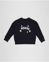 Riders Jnr By Lee - The Crop Sweat Shine Bright - Kids
