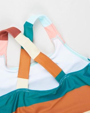 Free by Cotton On Lottie One Piece   Teens - Swimwear (Multi Stripe)