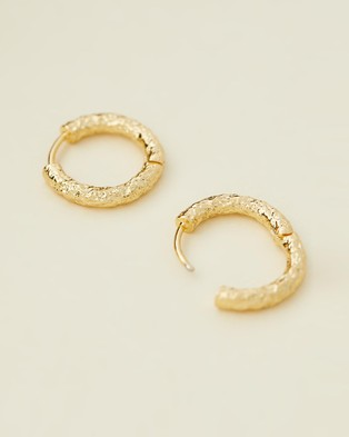 Carly Paiker Theo Huggies   18mm - Jewellery (Gold)