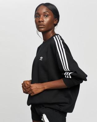 adidas Originals Long Sleeve Sweatshirt - Sweats (Black)