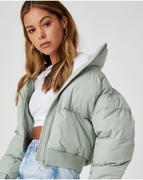 Supre - Cody Cropped Puffer Jacket