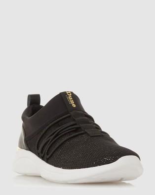 Dune London - E Elwood Low Top Sneakers (Black)