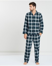 Polo Ralph Lauren - Long Sleeve Flannel Sleep Set