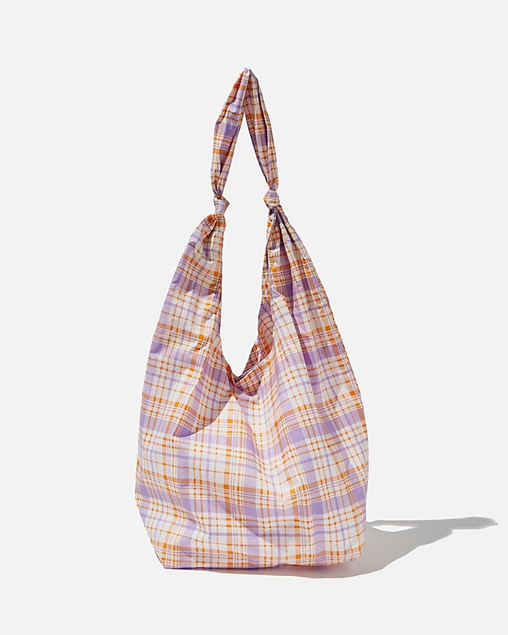 Rubi Endless Summer Slouch Tote Teens Bags Powder Lilac & Sweet Orange
