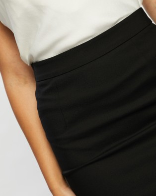 Atmos&Here Anna Bengaline Pencil Skirt - Pencil skirts (Black)