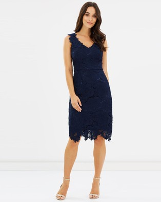 Review – Midsummer Bloom Dress Navy