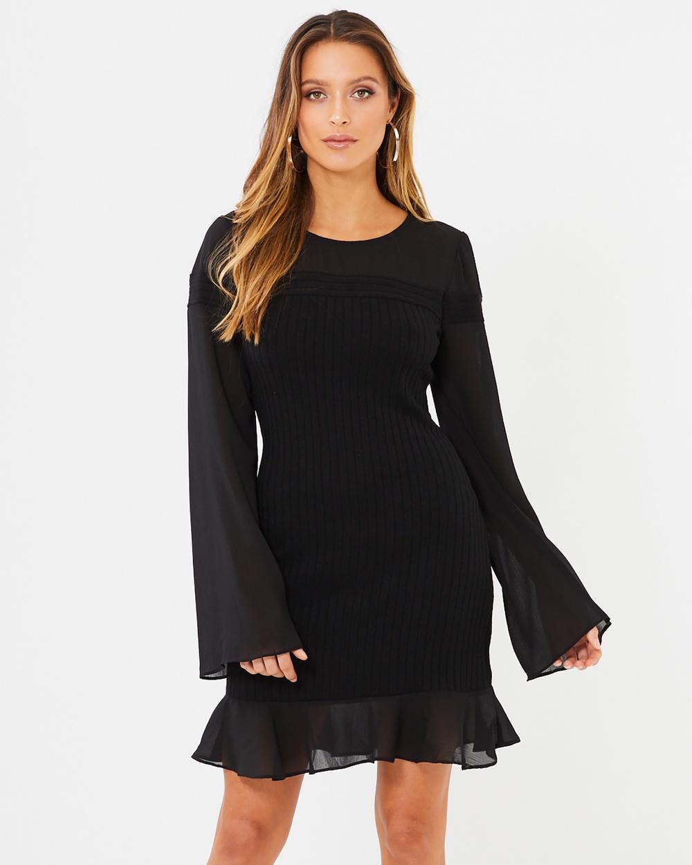 Calli Maelee Dress Dresses Black Maelee Dress
