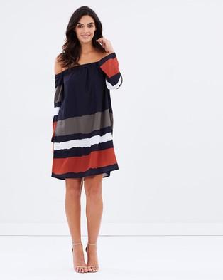 Wite – Latitude Dress – Dresses (Ink Navy)