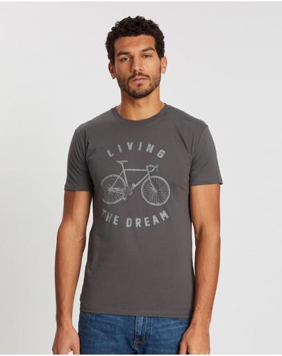Après Vélo Living The Dream T-shirt Charcoal
