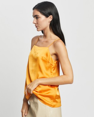 Glamorous Relaxed Cami - Tops (Marigold)