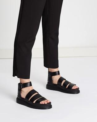 Dr Martens Womens Clarissa II Sandals - Sandals (Black Brando)