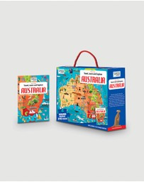 Sassi - Travel, Learn and Explore Puzzle & Book Set - Australia