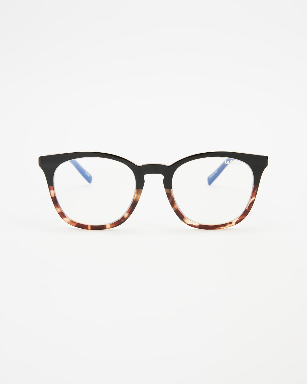 Le Specs Fine Specimen Blue Light Lenses Optical Black & Tort
