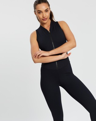 AVE Activewoman Compression Yoga One Piece - all compression (Black)