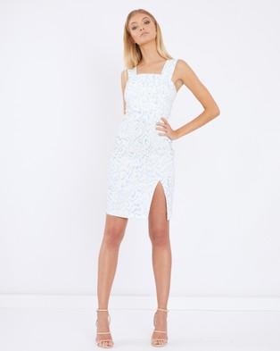 Tussah – Ola Eyelet Dress – Bodycon Dresses Multi