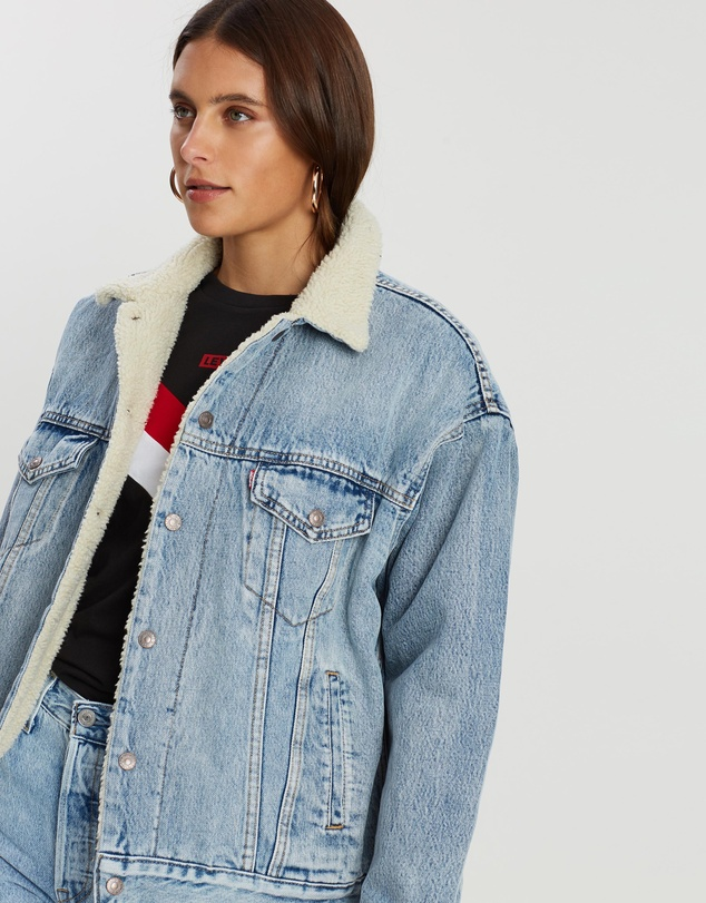 Levi's - Dad Sherpa Trucker Jacket