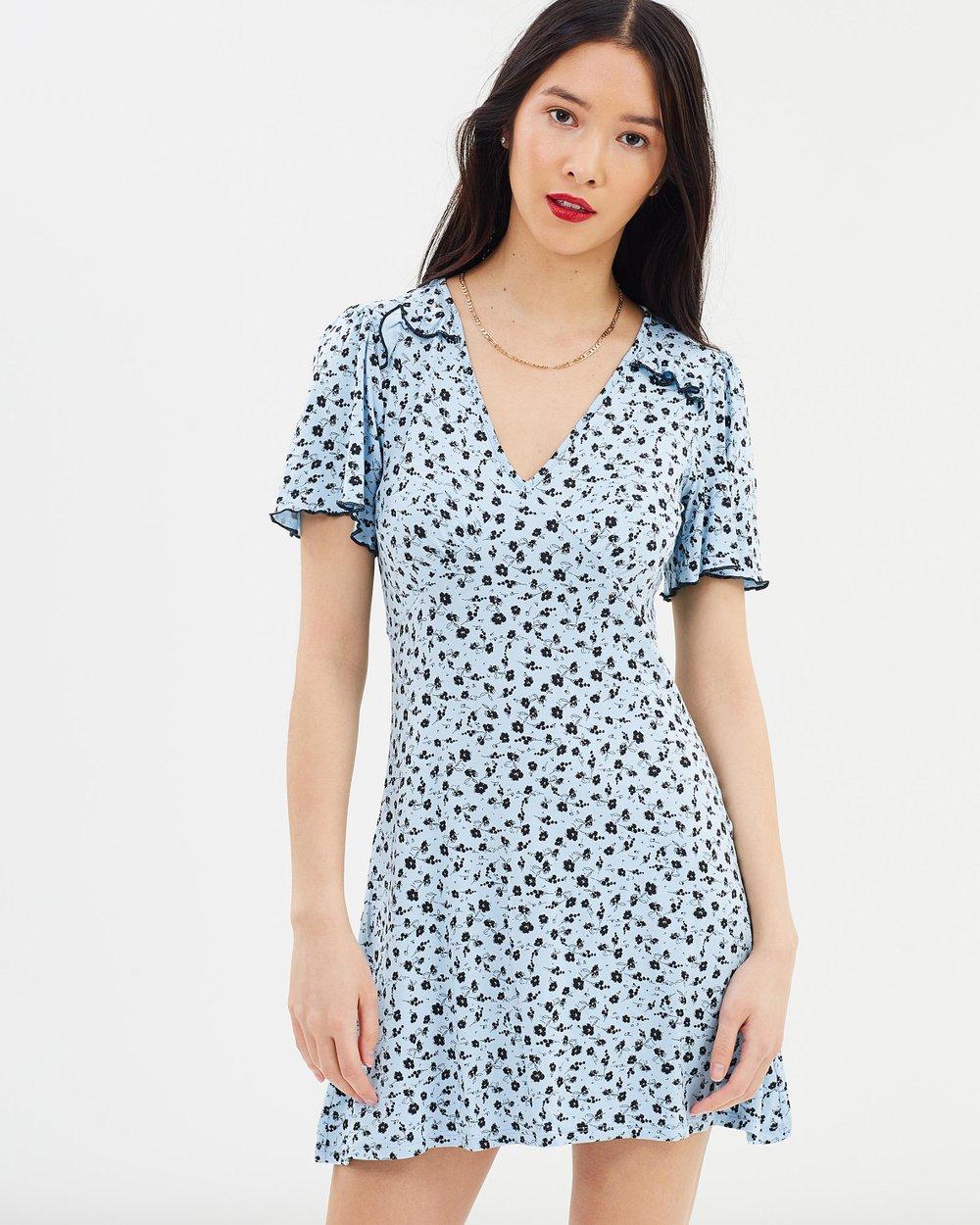 Jersey Tea Dress by Miss Selfridge Online | THE ICONIC | Australia