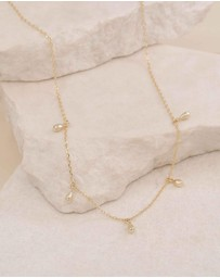 By Charlotte - Gold Divine Grace Choker