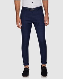 Yd. - Williamstown Check Skinny Chinos
