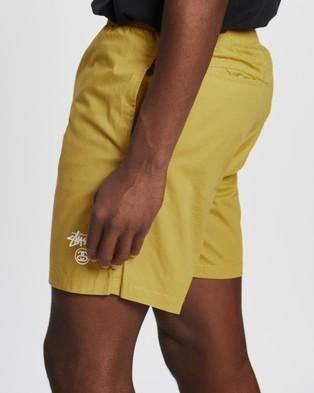 Stussy Basic Stock Beachshorts - Shorts (Mustard)