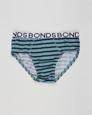 Bonds Kids 4 Pack Briefs   Kid's - Briefs (Print 5C1)