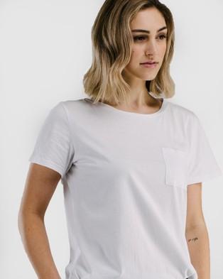 Avila Classic long T shirt - Short Sleeve T-Shirts (White)