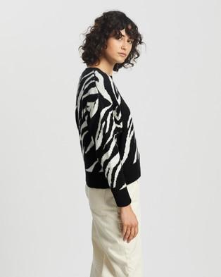 M.N.G Lope Sweater - Jumpers & Cardigans (Black)