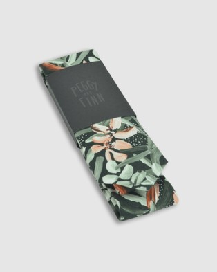 Peggy and Finn - Protea Tie - Ties (Green) Protea Tie