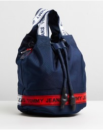 Tommy Hilfiger - TJ Logo Tape Bucket Crossover Bag