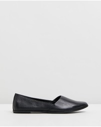 Atmos&Here - Lena Leather Flats