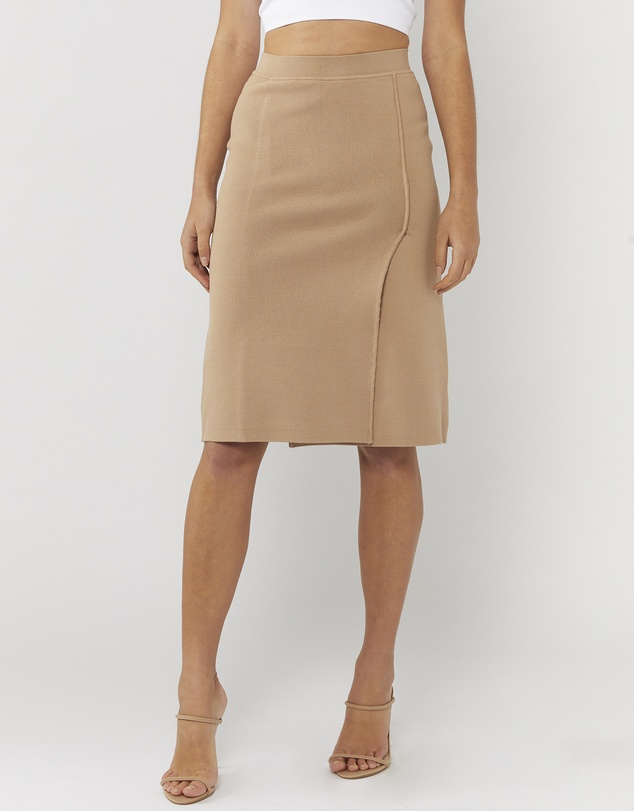 Everly Collective - The Other Side Wrap Skirt