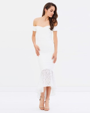 Miss Holly – Alessandra Dress – Bridesmaid Dresses White